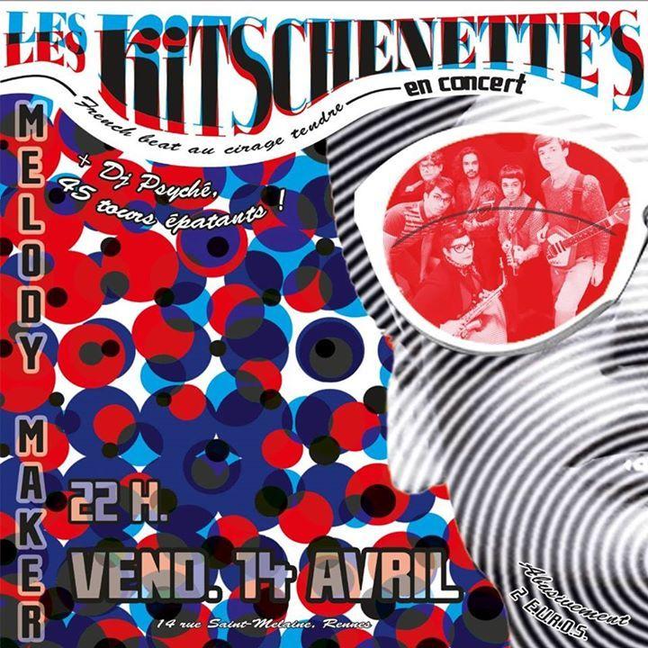 Les Kitschenette's Tour Dates