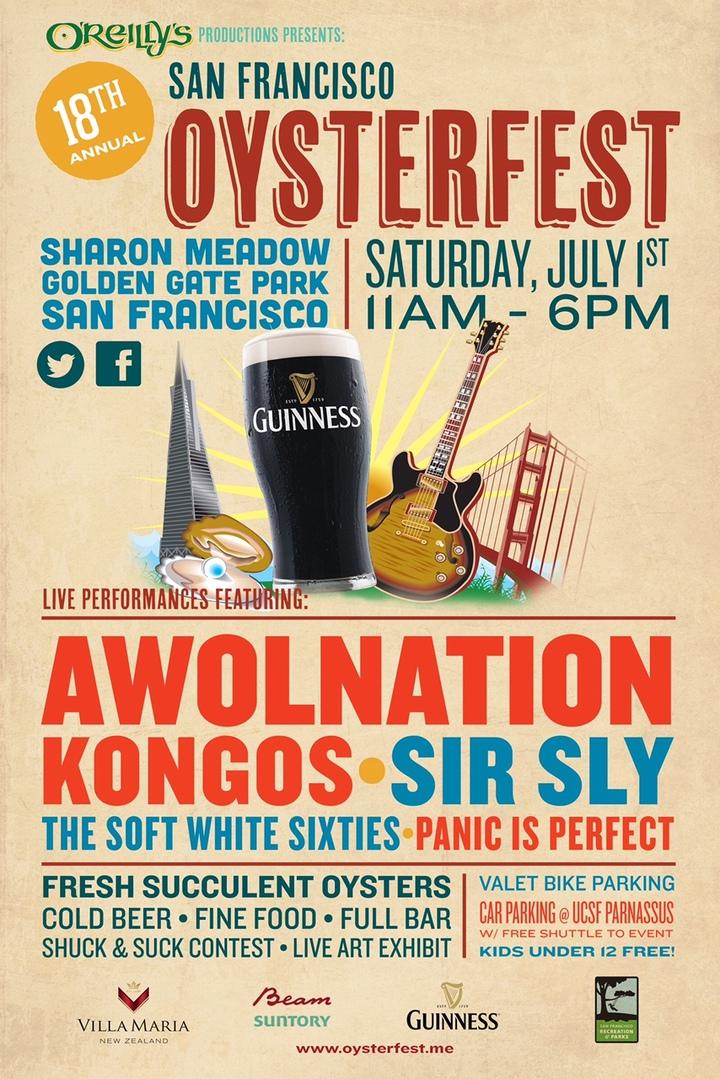 AWOLNATION @ Sharon Meadow - Golden Gate Park - San Francisco, CA