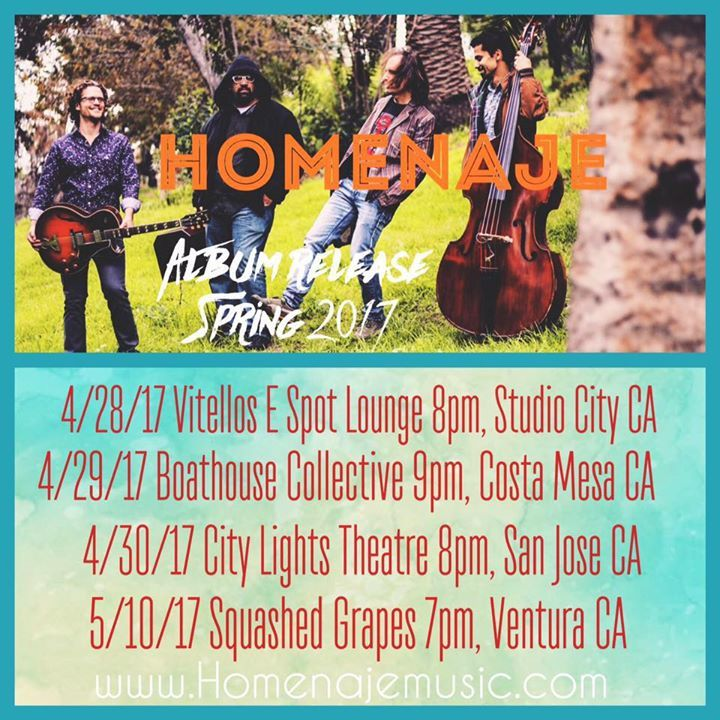 Homenaje Tour Dates