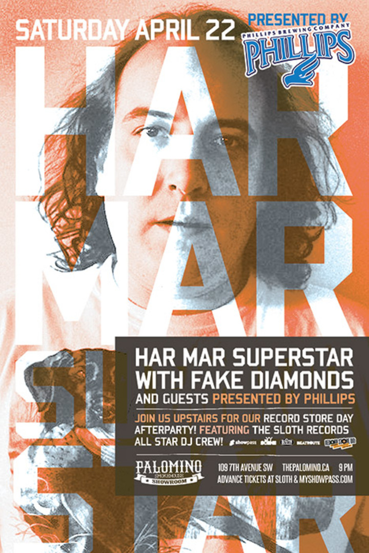 Har Mar Superstar @ The Palamino - Calgary, AB