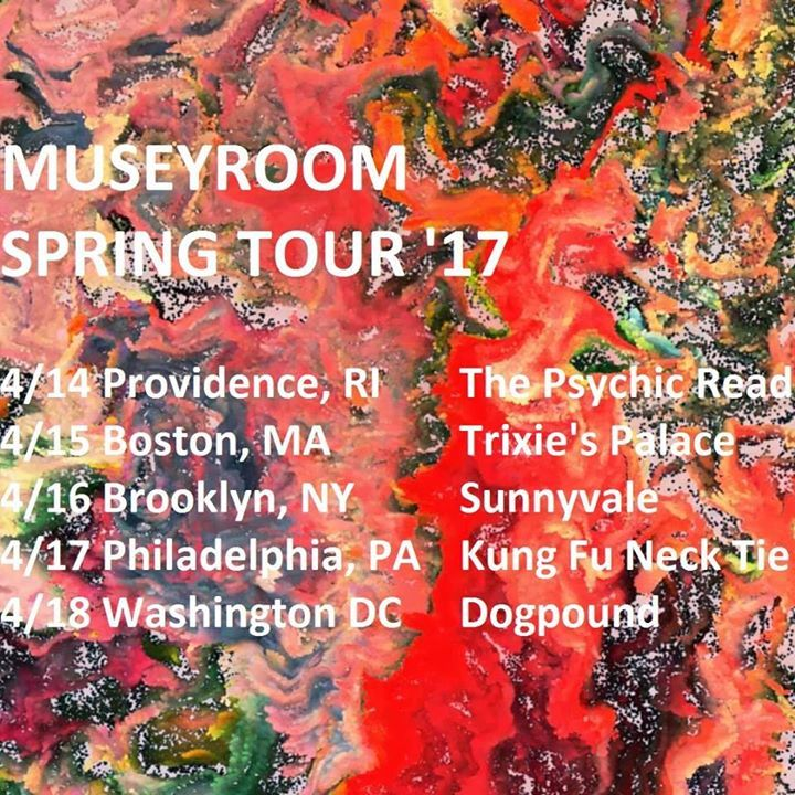 Museyroom Tour Dates