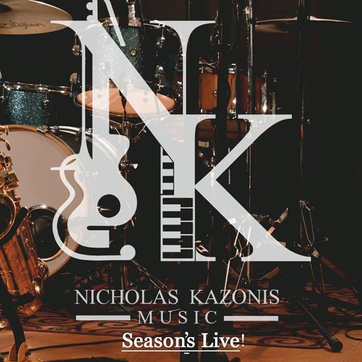 Nicholas Kazonis Tour Dates