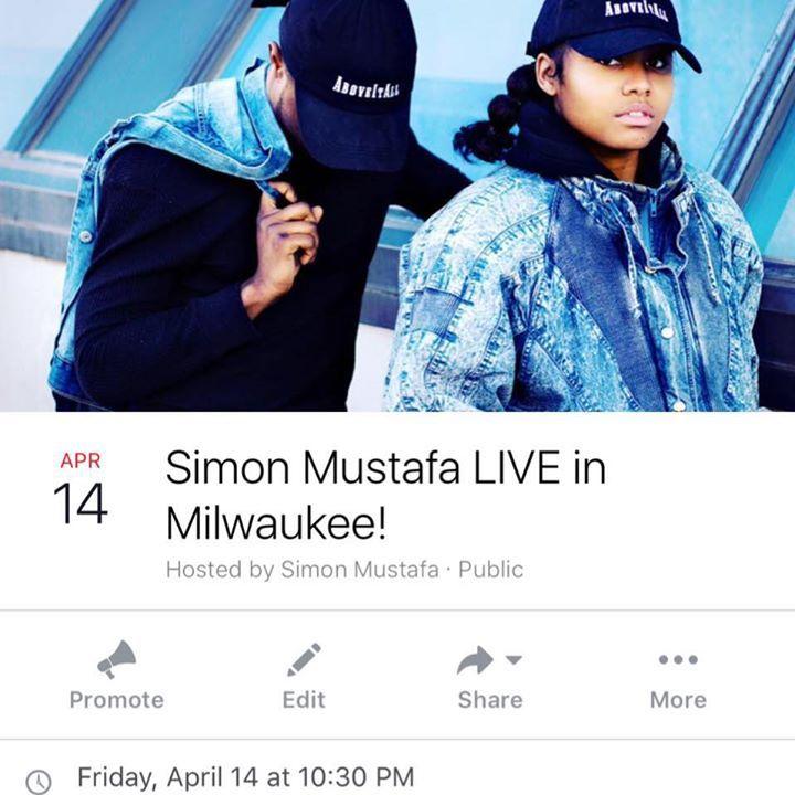 Simon Mustafa Tour Dates