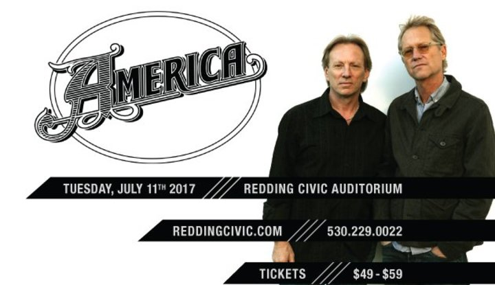 America @ Redding Civic Auditorium - Redding, CA