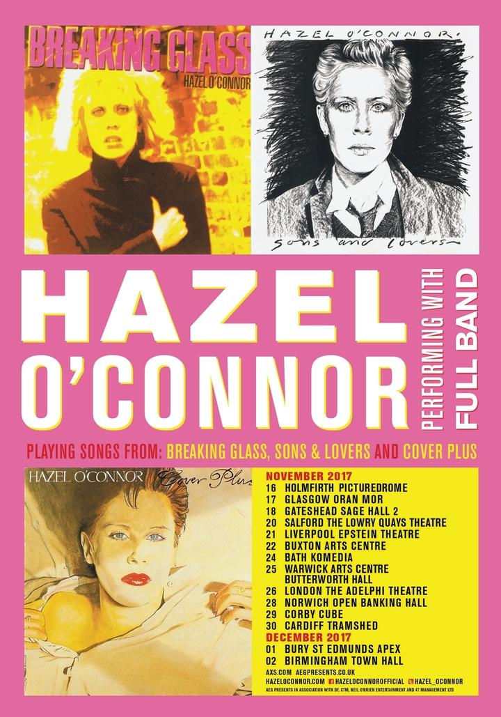 Hazel O'Connor @ PICTUREDROME - Holmfirth, United Kingdom