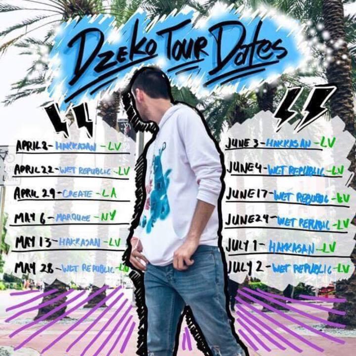 Dzeko and Torres Tour Dates