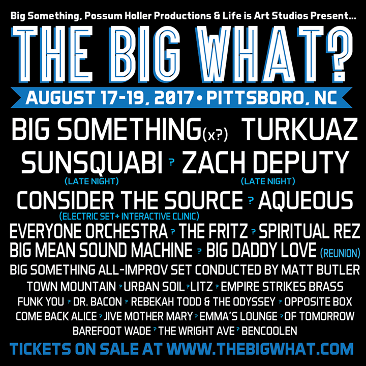 BIG Something Tour Dates