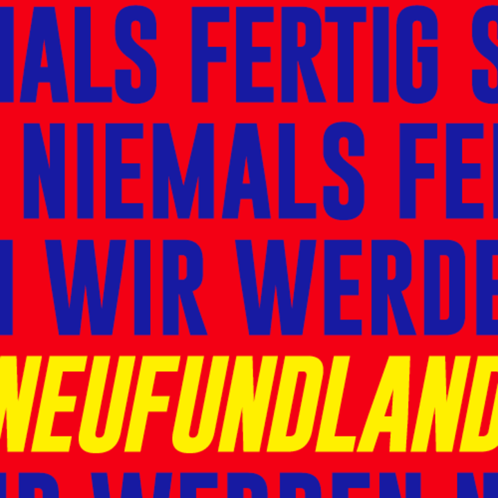 Neufundland Tour Dates