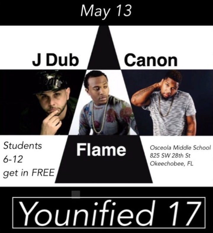 DJ Hektic @ Osceola Middle School  - Okeechobee, FL