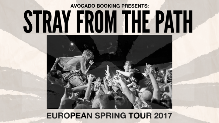 Stray From the Path @ Patronaat - Haarlem, Netherlands