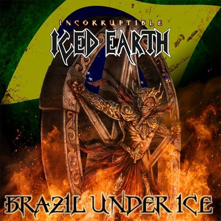 Iced Earth - Brazil Under Ice Tour Dates
