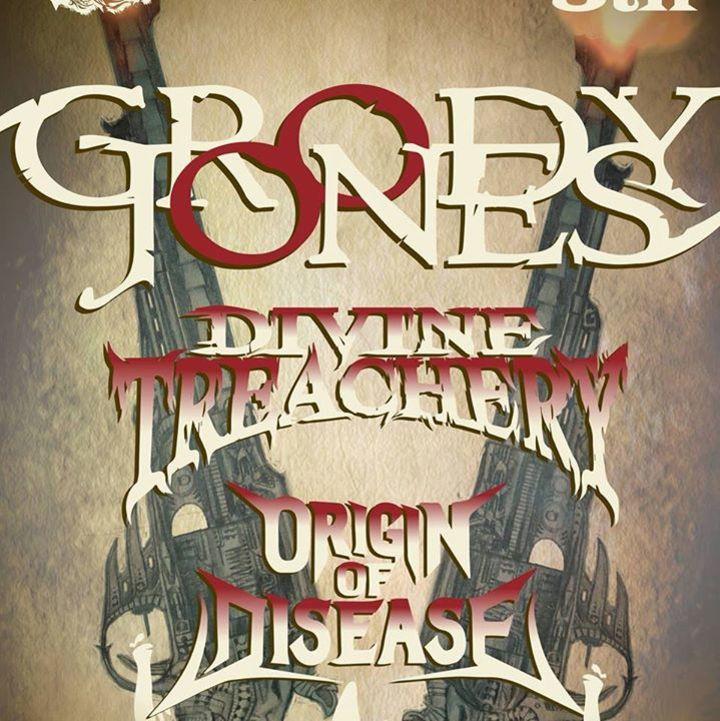Grody Jones Tour Dates