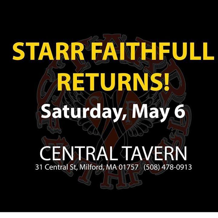 Starr Faithfull Tour Dates