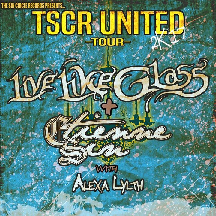 Live Like Glass Tour Dates
