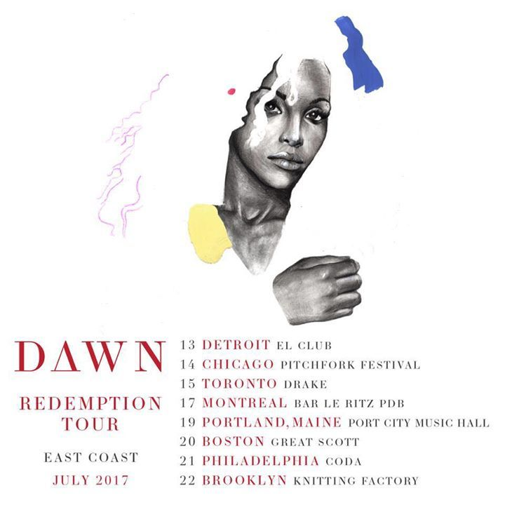 dawn richard Tour Dates