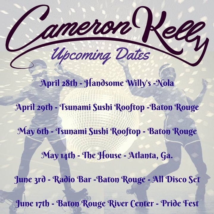 CAMERON KELLY Tour Dates