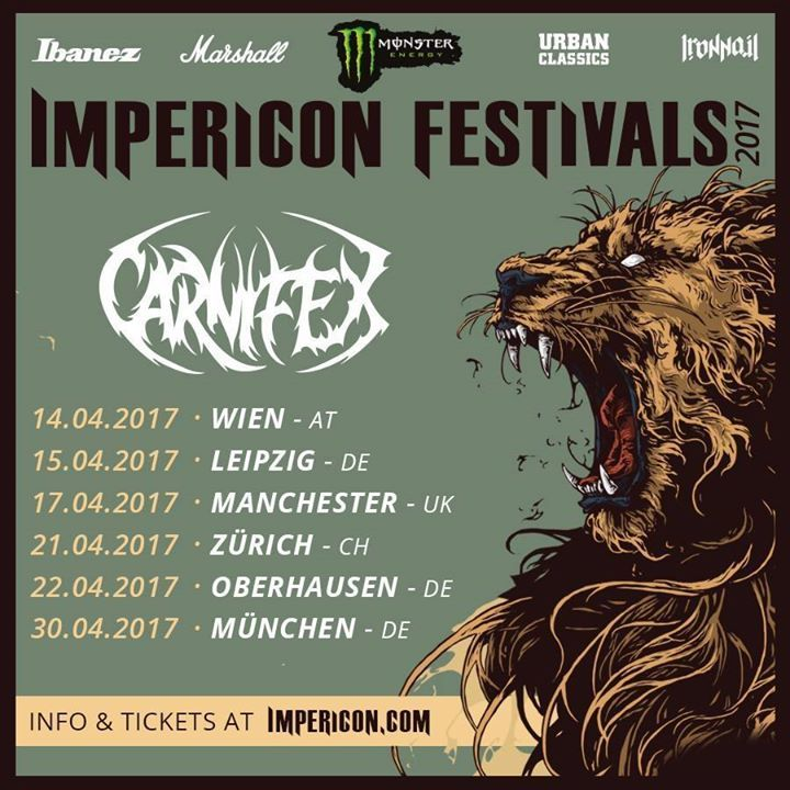 Carnifex Tour Dates