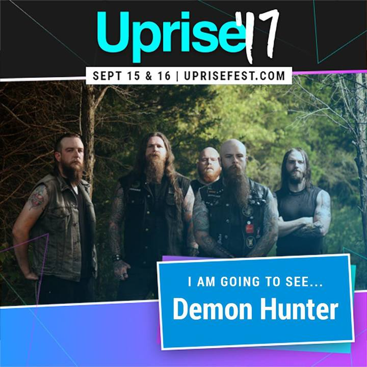 Demon Hunter @ Uprise Festival - Shippensburg, PA