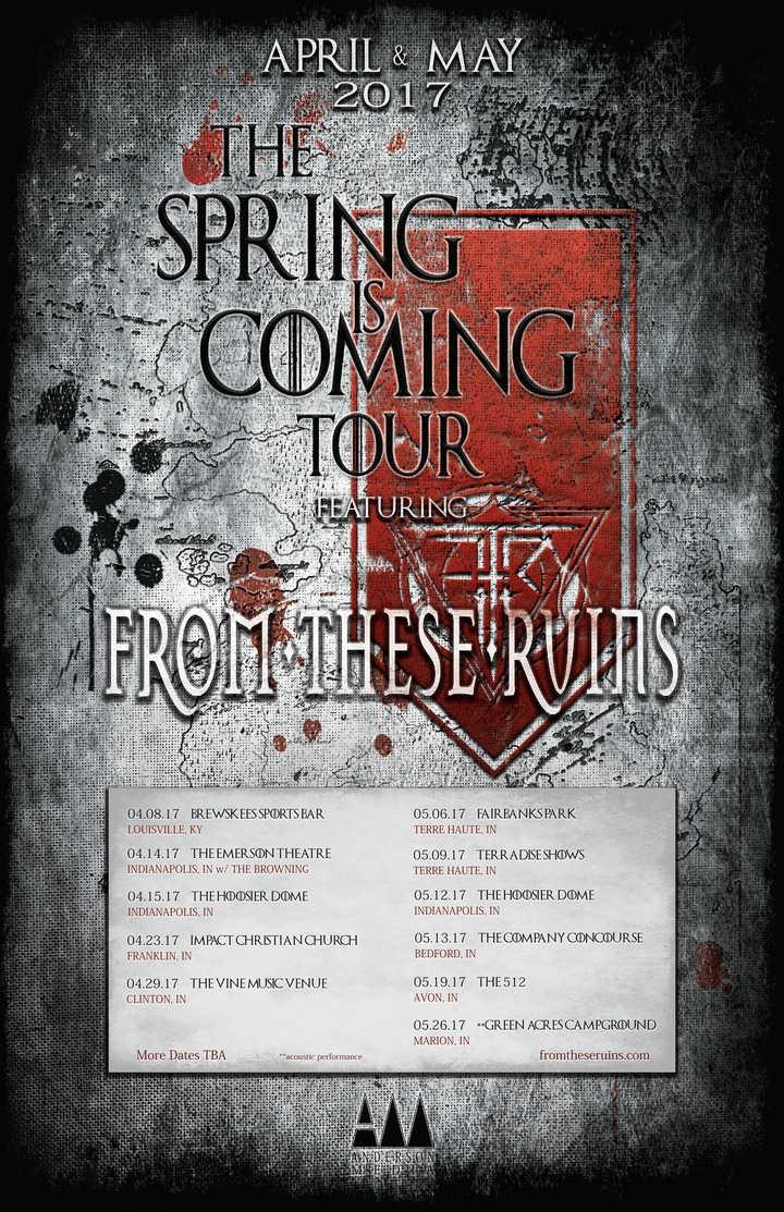 From These Ruins Tour Dates