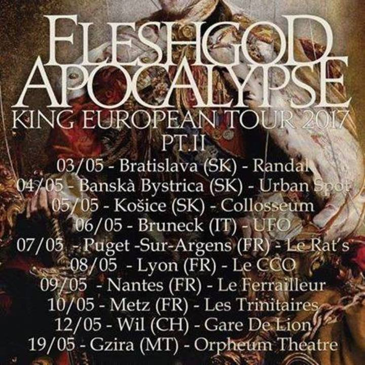 Fleshgod Apocalypse @ Kings - Raleigh, NC