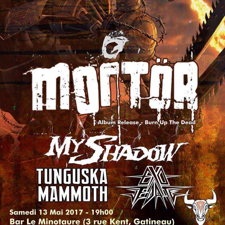 My Shadow Tour Dates
