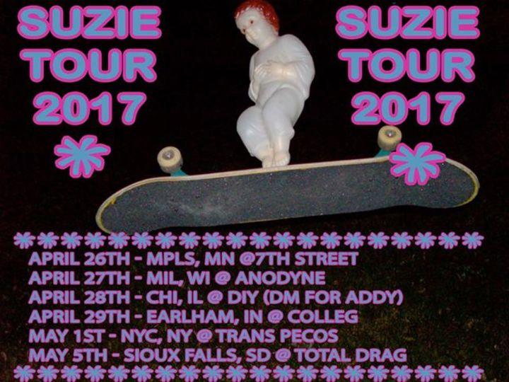 Suzie Tour Dates