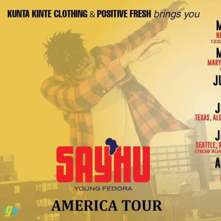 Say'hu Tour Dates