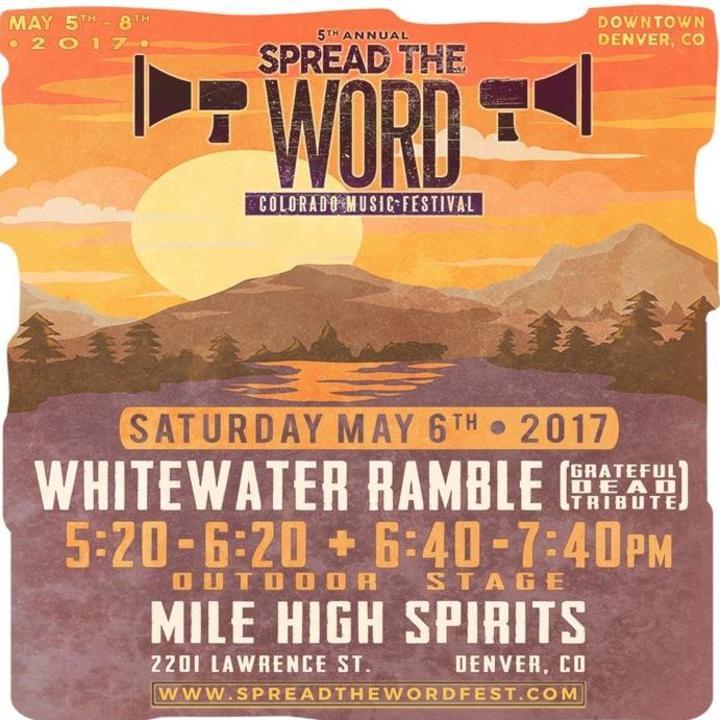 Whitewater Ramble Tour Dates