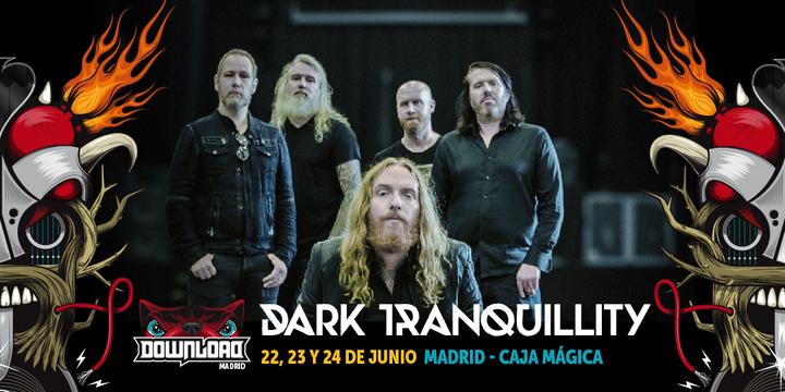 Dark Tranquillity @ Download Madrid - Madrid, Spain