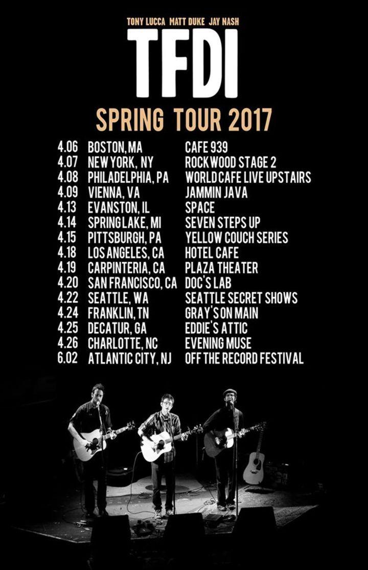 Jay Nash Tour Dates