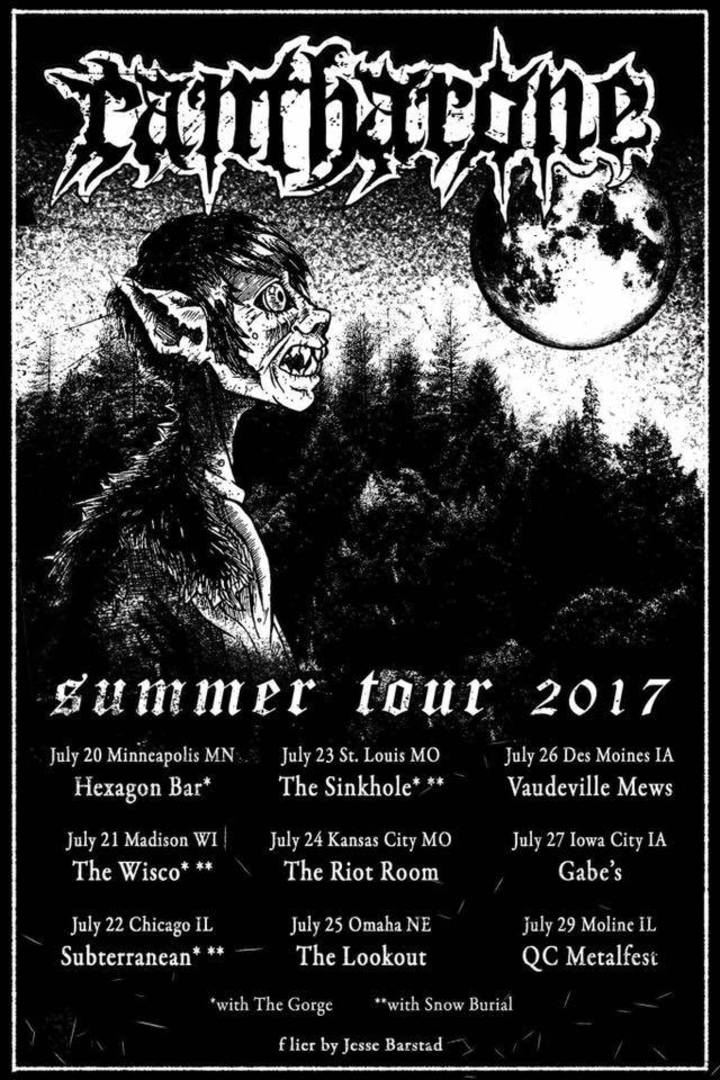 Cantharone Tour Dates