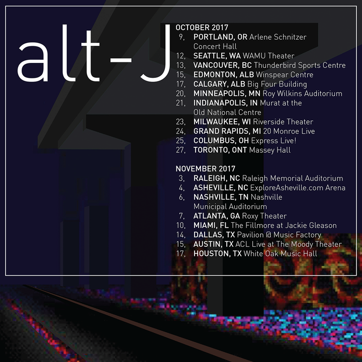 Alt-J @ The Fillmore at Jackie Gleason (SOLD OUT) - Miami Beach, FL