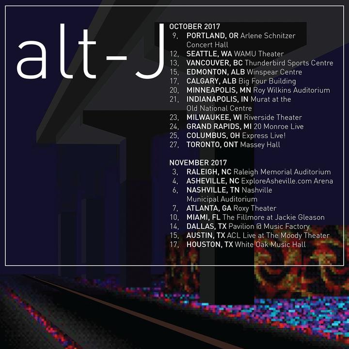 Alt-J @ Pavilion at Music Factory - Irving, TX