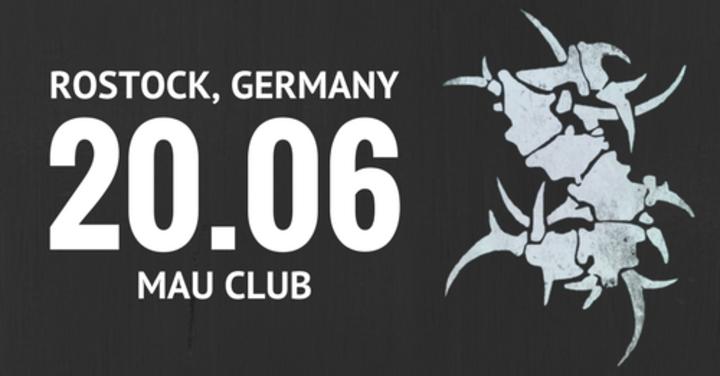 Sepultura @ Mau Club - Rostock, Germany