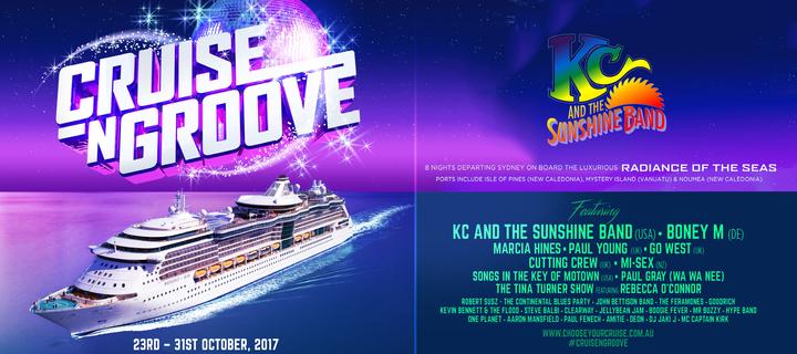 KC and The Sunshine Band @ Cruise-N-Groove - Sydney, Australia