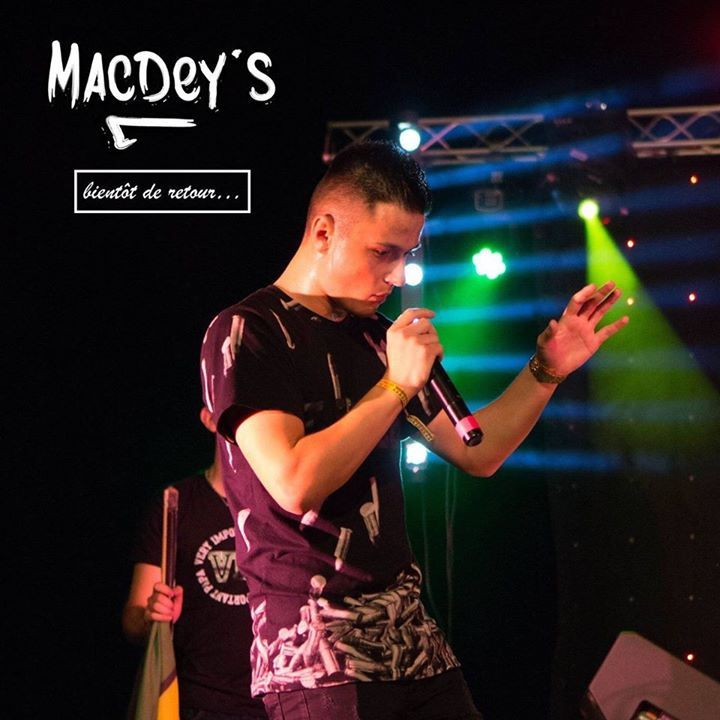 Macdey's Tour Dates