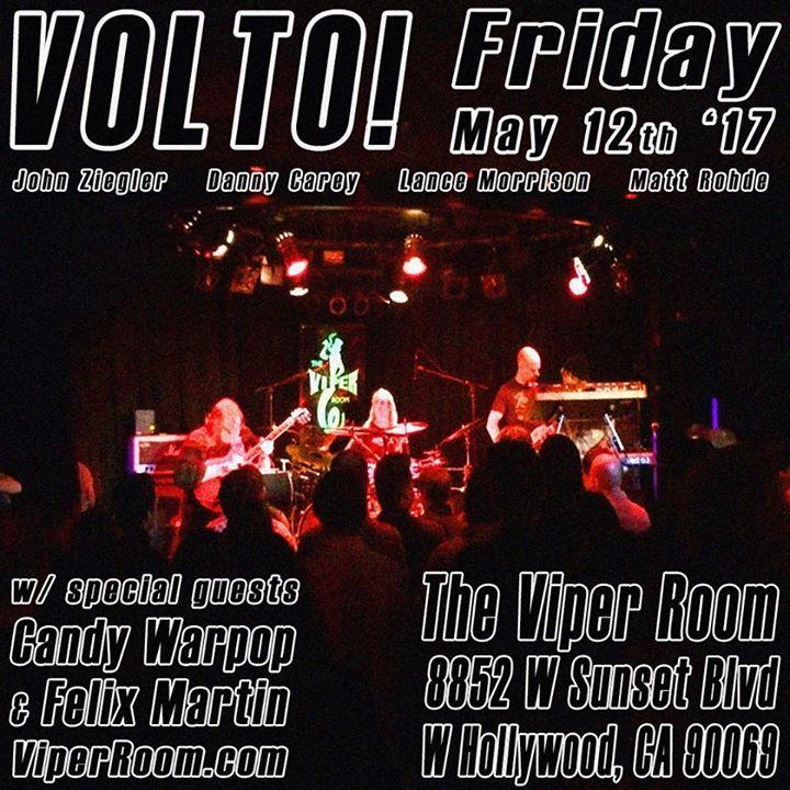 VOLTO! @ The Viper Room - West Hollywood, CA