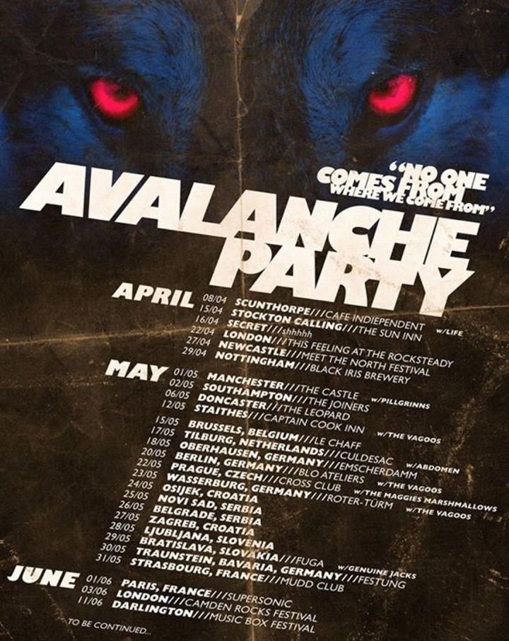 AVALANCHE PARTY Tour Dates