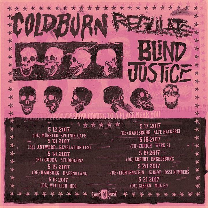 Coldburn Tour Dates
