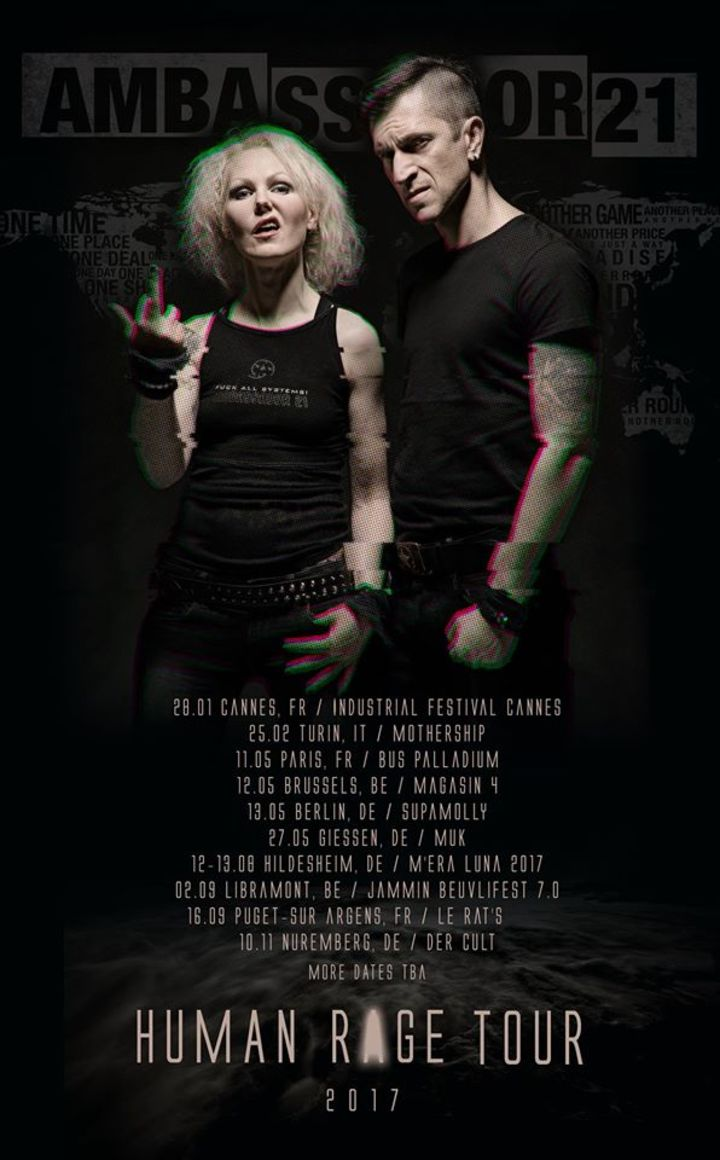 Ambassador21 Tour Dates