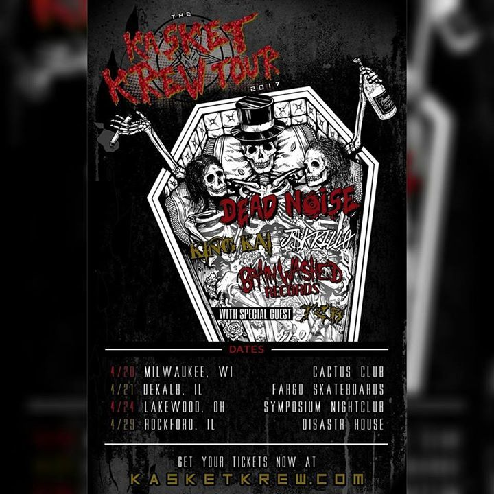 Forever The Living Dead Tour Dates