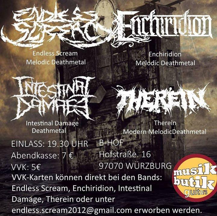Intestinal Damage Tour Dates