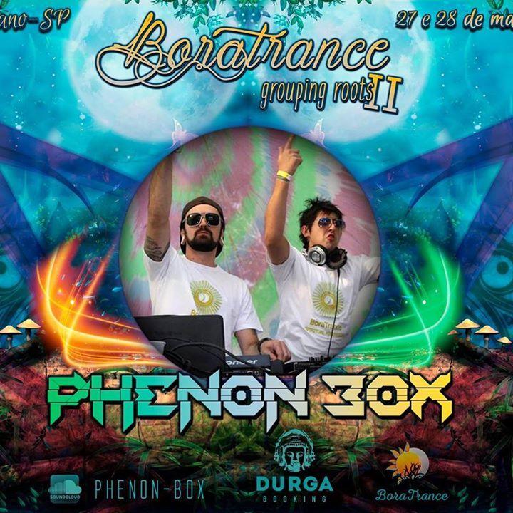 PHENON BOX Tour Dates