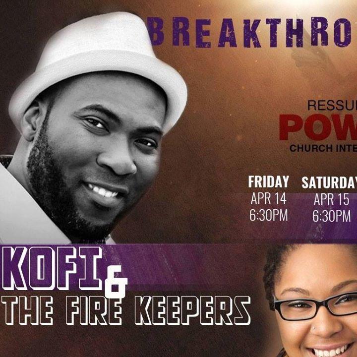 Kofi & The Fire Keepers Tour Dates