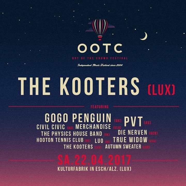 The Kooters Tour Dates