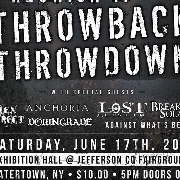 Tyrade Tour Dates