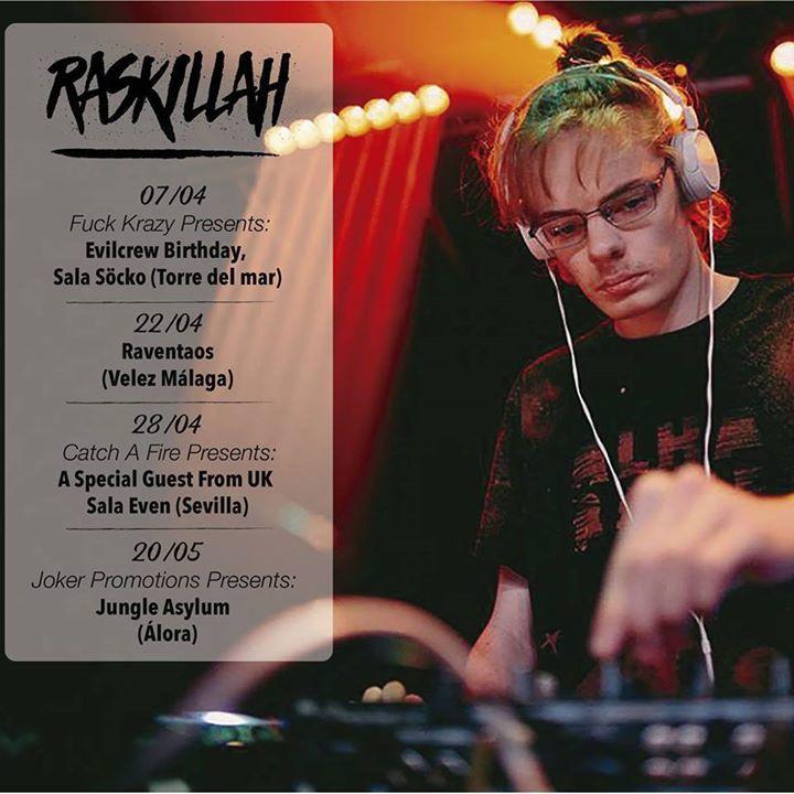 RasKillah Tour Dates