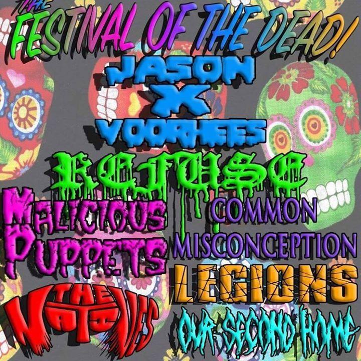 JasonXvoorhees Tour Dates