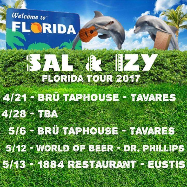 Sal & Izy Tour Dates