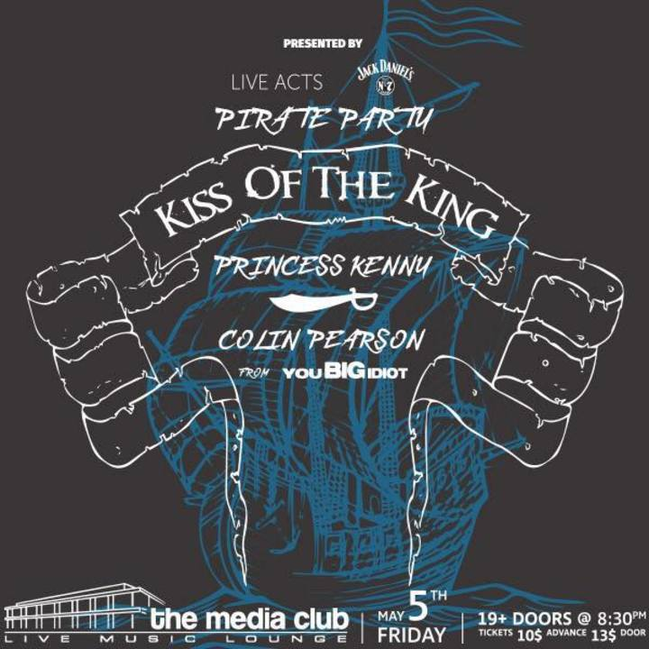 Kiss Of The King Tour Dates